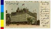 The Ebbitt House, Army and Navy Headquarters, Washington, D.C., 1898-1901