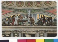 """Invention"" mural, Library of Congress, Washington, D.C., 1907-1914"