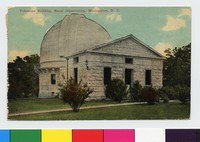 Telescope Building, Naval Observatory, Washington, D.C., 1907-1912