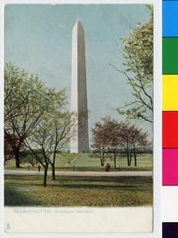 Washington Monument, Washington, D.C., 1901-1907