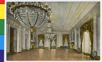 White House East Room, Washington, D.C., 1907-1914