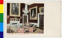 Red Room of the White House, Washington, D.C., 1901-1907