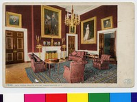 White House Red Room, Washington, D.C., 1907-1914
