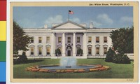 White House, Washington, D.C., 1930-1944