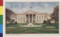 White House, Washington, D.C., 1901-1907