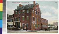 City Hotel, Alexandria, Virginia, 1907-1914