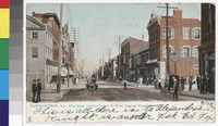 King Street and Marshall House, Alexandria, Virginia, 1901-1907