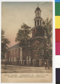 Christ Church, Alexandria, Virginia, 1911-1914