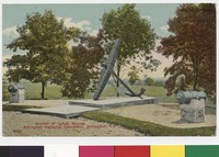 Anchor of the U.S.S. Maine, Arlington National Cemetery, Arlington, Virginia, 1907-1914