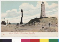Lighthouses in Cape Henry, Virginia, 1907-1914