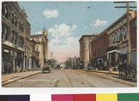 Main Street in Charlottesville, Virginia, 1901-1907