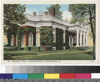 Monticello, home of Thomas Jefferson, Charlottesville, Virginia, 1930-1939