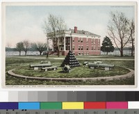 Y.M.C.A. and trophy circle at Fort Monroe, Hampton, Virginia, 1907-1914