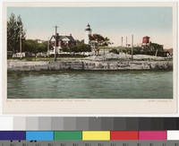 Old Point Comfort Lighthouse, Fort Monroe, Hampton, Virginia, 1901-1907