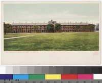 Soldiers' barracks at Fort Monroe, Hampton, Virginia, 1901-1907