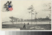 Sunset Lake, Asbury Park, New Jersey, 1898-1901