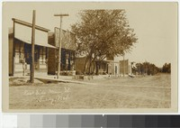 East Side Main Street in Hardy, Nebraska, 1907-1909