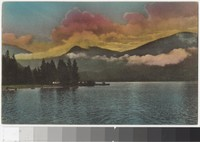Early Morning at Grand Lake in Rocky Mountain National Park, Colorado, 1907-1914