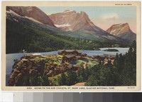 Going-to-the-Sun Chalets, St. Mary Lake, Glacier National Park, Montana, 1930-1938