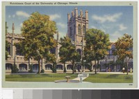Hutchinson Court of the University of Chicago, Illinois, 1930-1944