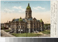 Courthouse, Evansville, Indiana, 1901-1907