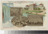 Shredded Wheat and Triscuit factory, Niagara Falls, New York, 1913-1914