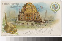 Temple of Music at the Pan-American Exposition, St. Louis, Missouri, 1901