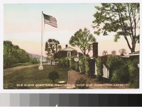 Old slave quarters, Monticello shop and honeymoon lodge, Charlottesville, Virginia, 1907-1914
