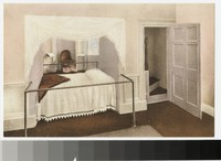 Thomas Jefferson's Alcove Bed at Monticello, Virginia, 1907-1914