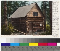 Cabin at Fourth Lake, Adirondack Mountains, New York, 1901-1907