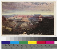 Sunrise from Hermit Trail, Grand Canyon National Park, Arizona, 1907-1915