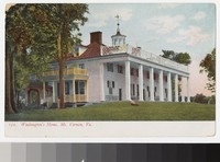 Mount Vernon mansion, Virginia, 1901-1907