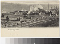 Factory furnaces of Duquesne, Pennsylvania, 1901-1907