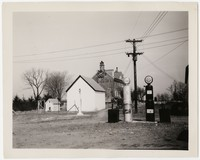 Harmony Hall gas station, Fort Washington, Maryland, March 30, 1936