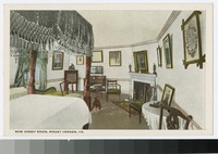 New Jersey room, Mount Vernon, Virginia, 1915-1930