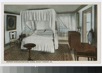 George Washington's bed room, Mount Vernon, Virginia, 1915-1930