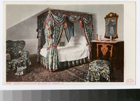 Martha Washington's bedroom, Mount Vernon, Virginia, 1901-1907