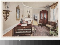 Music room, Mount Vernon, Virginia, 1907-1914