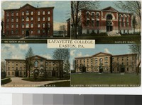 Buildings at Lafayette College, Easton, Pennsylvania, 1907-1914