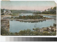Central Delaware Bridge, Easton, Pennsylvania, 1907-1910