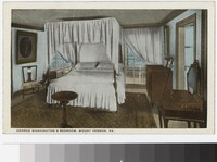 George Washington's bedroom, Mount Vernon, Virginia, 1915-1930