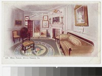 West Parlor, Mount Vernon, Virginia,, 1901-1907