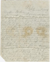To Richard Brooke -- From Henry Briggs Brooke