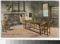 Old kitchen, Mount Vernon, Virginia, 1907-1914
