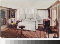 George Washington's Bedroom, Mount Vernon, Virginia, 1907-1914