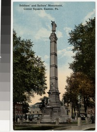 Soldiers' and Sailors' Monument, Easton , Pennsylvania, 1907-1914