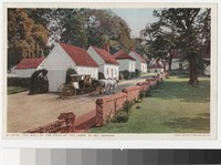 The wall at the edge of the lawn, Mount Vernon, Virginia, 1915-1930