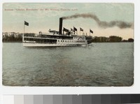 Steamer Charles Macalester for Mount Vernon, Virginia, 1907-1912