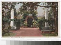 Tomb of Washington at Mt. Vernon, Virginia, 1915-1930