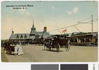 Entrance to Newport Beach, Newport, Rhode Island, 1907-1914